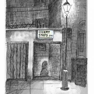 Ghost in JamesPark_London