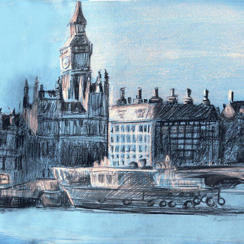 Westminster_London_sketchbook